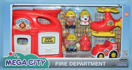 Игровой набор Keenway Пожарная станция (4)