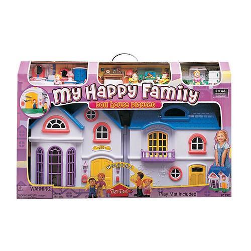 Набор Keenway My Happy Family дом с предметами сборный музыкальный (4)