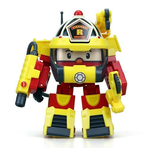 Машинка Silverlit Рой трансформер 10 см + костюм супер пожарного (4)