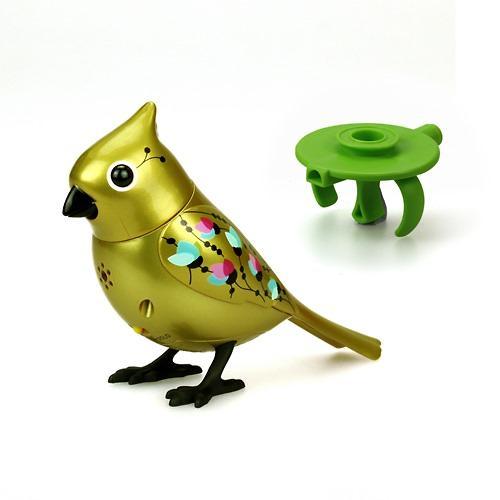 Игрушка Silverlit Золотая и серебряная птичка с кольцом (6)