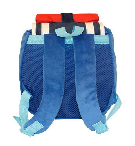 Плюшевый рюкзак Поли Робокар с крышкой (6)