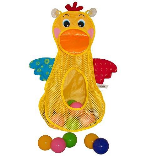 Голодный пеликан с мячиками (6)