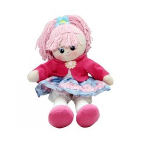 Кукла мягкая Земляничка, 30 см (3)