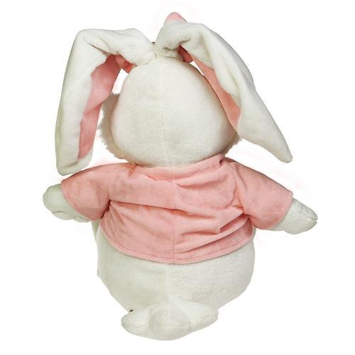 Кролик Белый сидячий 23см (7)