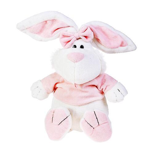 Кролик Белый сидячий 40 см (6)