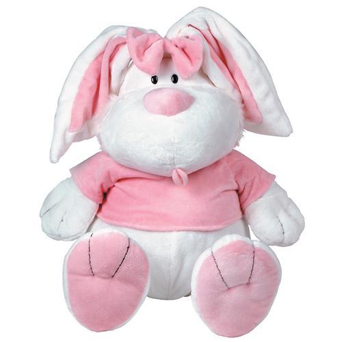 """Кролик Белый сидячий 28"""" (71см) (5)"""