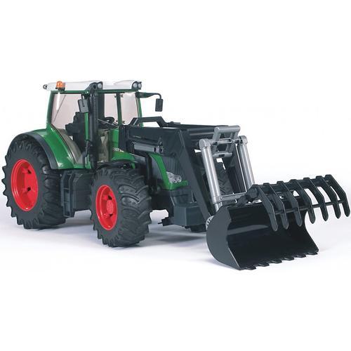 Трактор Fendt 936 Vario с погрузчиком (5)