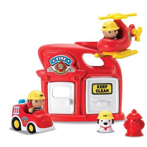 Игровой набор Keenway Пожарная станция (5)