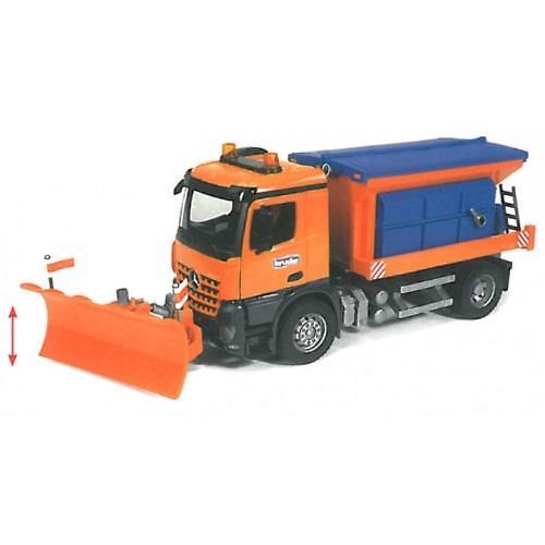 """Снегоуборочная машина MB Arocs (подходит модуль со звуком и светом """"H"""") (3)"""