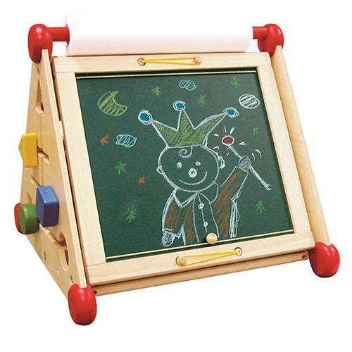Развивающий центр I`m Toy 7 в 1 (алфавит, часы, доски для рисования, логические сортеры, счёты) (6)