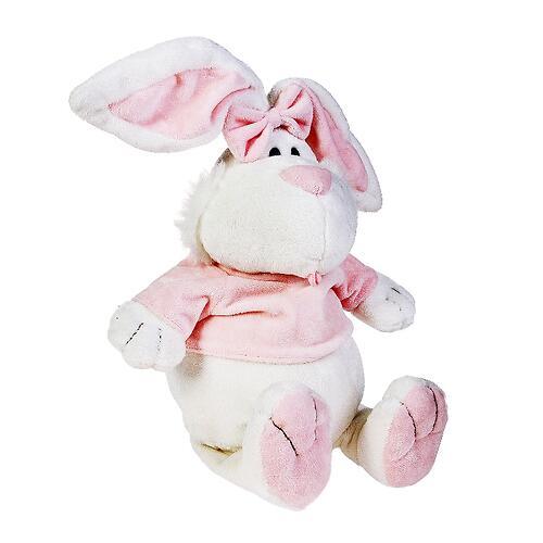 Кролик Белый сидячий 40 см (7)