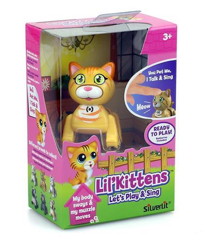 Игрушка Silverlit Котенок Американская короткошерстная кошка (6)
