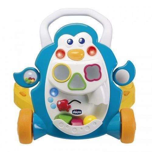 Игровой центр-ходунки Сhicco Детские шажочки Пингвин 9 мес+ (11)