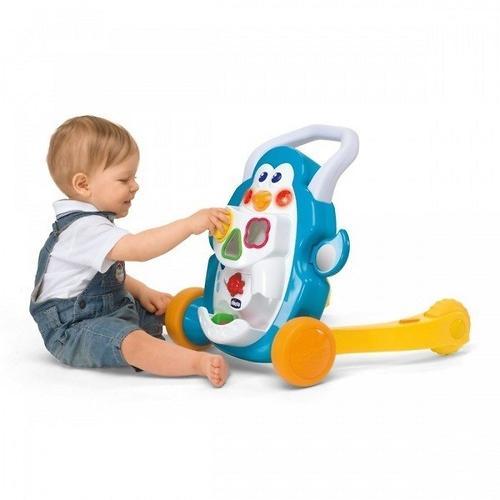Игровой центр-ходунки Сhicco Детские шажочки Пингвин 9 мес+ (13)