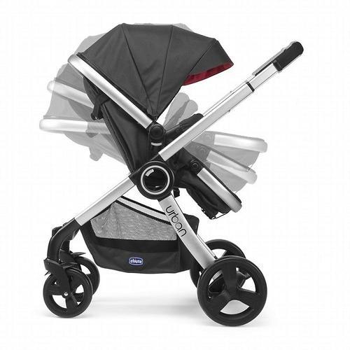 Прогулочная коляска Chicco Urban Plus Crossover Black (11)