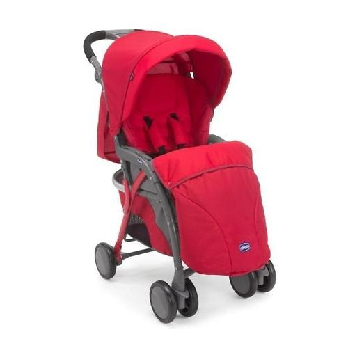 Прогулочная коляска Chicco Simplicity Top Red (27)