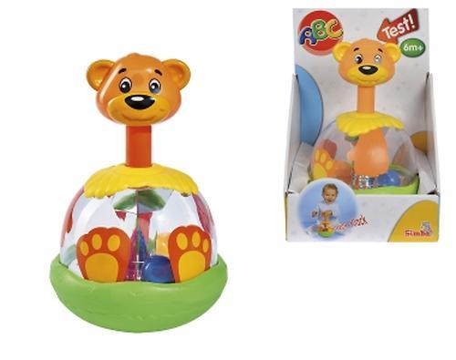 Игрушка-погремушка Медведь с шарами в животе (4)