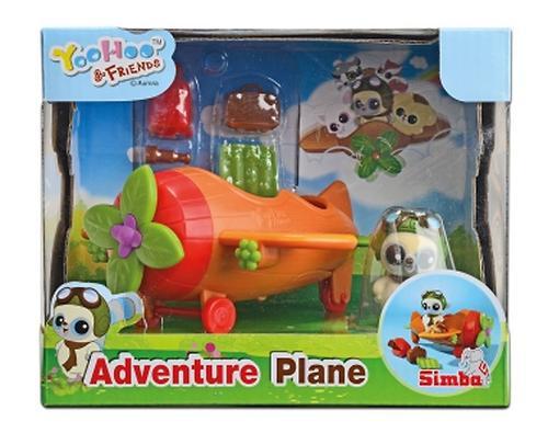 Самолет + 1 спец. фигурка YooHoo&Friends. (7)