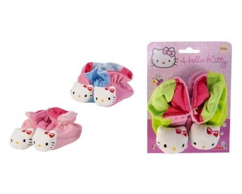 Тапочки-погремушки Hello Kitty (1)