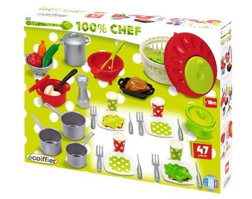 Набор посуды 100% Chef (3)