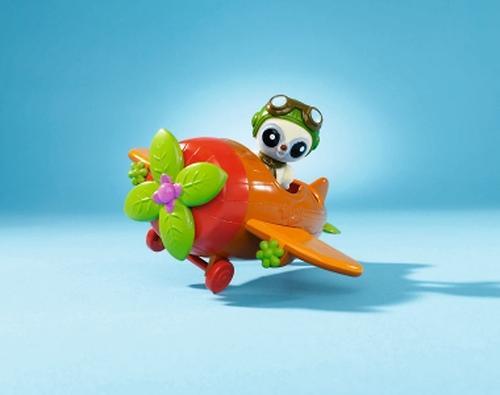Самолет + 1 спец. фигурка YooHoo&Friends. (9)