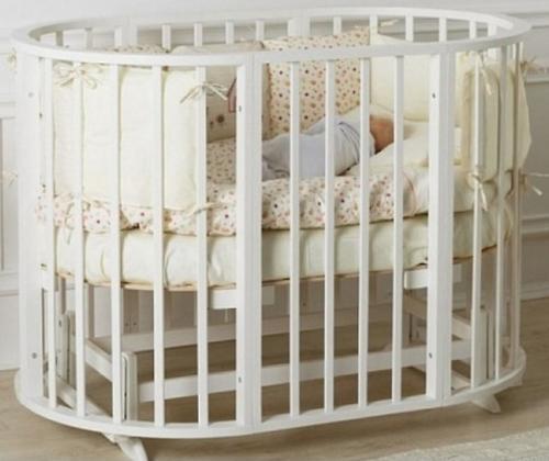 Маятник 2в1 для кроватки Incanto Gio Deluxe 8в1 Белый (8)