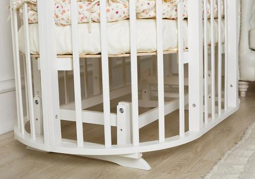 Маятник 2в1 для кроватки Incanto Gio Deluxe 8в1 Белый (5)