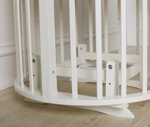 Маятник 2в1 для кроватки Incanto Gio Deluxe 8в1 Белый (6)
