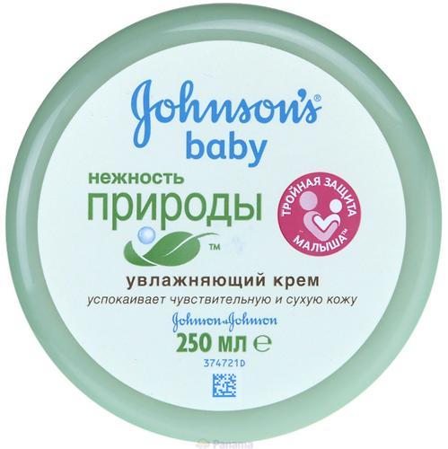 Крем Johnson's baby Нежность Природы 250мл (1)