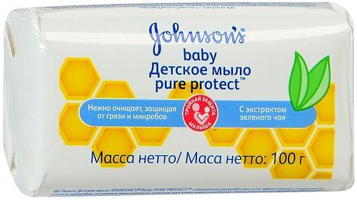 Детское мыло Johnson's baby Pure Protect 100 г (1)