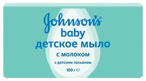 Мыло Johnsons baby с экстрактом натурального молочка 100 г (1)