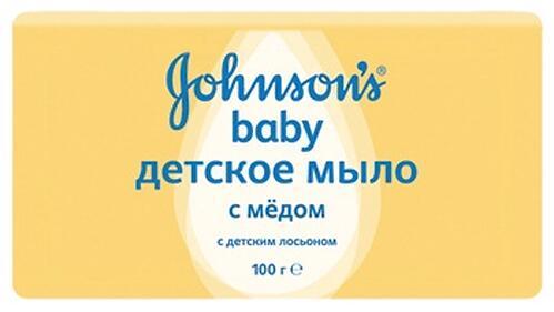 Мыло Johnsons baby с медом 100 г (1)