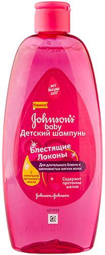 Набор Шампунь для волос Johnson's baby Блестящие локоны 300мл + спрей Блестящие локоны 200мл (5)