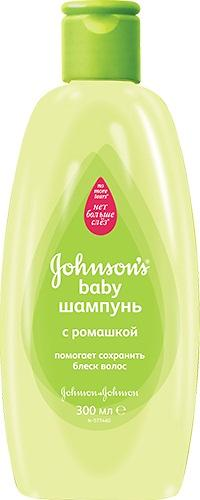 Шампунь Johnson's baby с Ромашкой 300 мл (1)