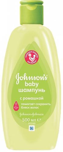 Шампунь Johnson's baby с Ромашкой 500 мл (1)