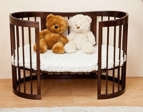 Кроватка Красная звезда Паулина Шоколад без матрасика (10)