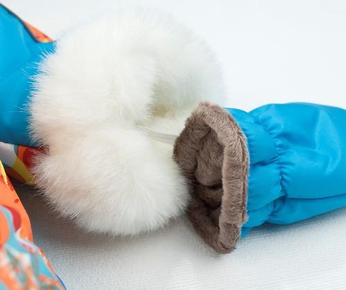 Комбинезон-трансформер Крошкин дом зимний Зимнее утро с варежками 185-3 ShV р.20-22 (62-74 см) (9)