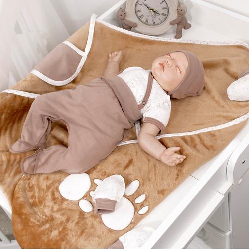 Комплект на выписку Крошкин дом Шоколадный мишка 10 предметов 10/10(ШМ)-7 ТИ (10)