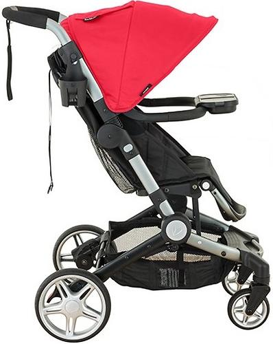 Коляска Larktale Coast Pram Barossa Red (8)