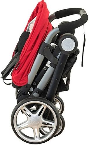 Коляска Larktale Coast Pram Barossa Red (11)