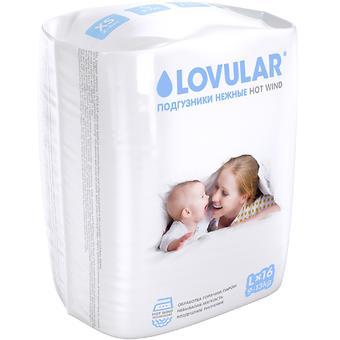Подгузники Lovular Hot Wind L 9-13 кг 16 шт/уп - Minim