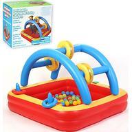 Уценка! Игровой надувной центр Madd Kids Плот с шариками