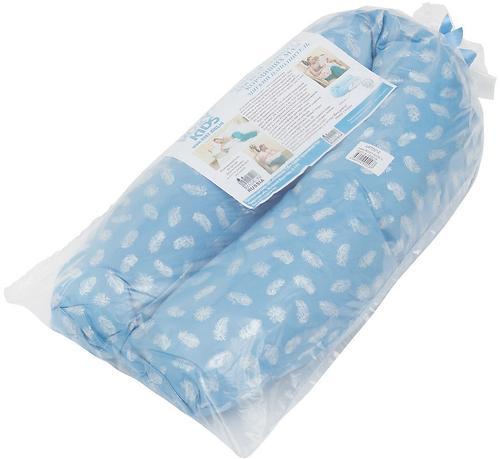 Подушка для беременных Roxy Kids Голубая (полистирол/холлофайбер наполнитель) (15)