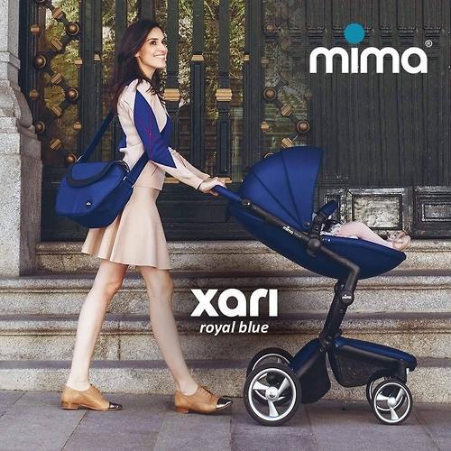 Сумка для мамы Mima Trendy Bag Royal Blue (6)
