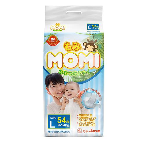 Подгузники Momi L 54 (9-14 кг) (1)