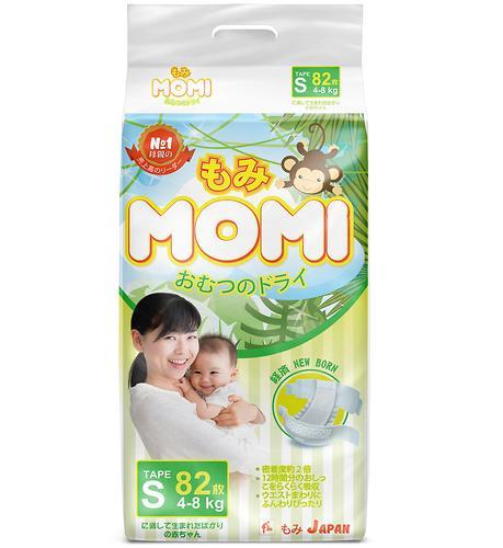Подгузники Momi S 82 (4-8 кг) (1)
