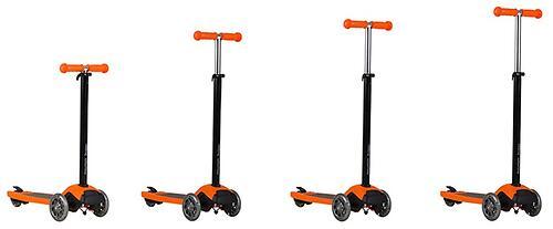 Самокат-подножка для второго ребенка 2в1 Mountain Buggy Freerider Оранжевый (9)