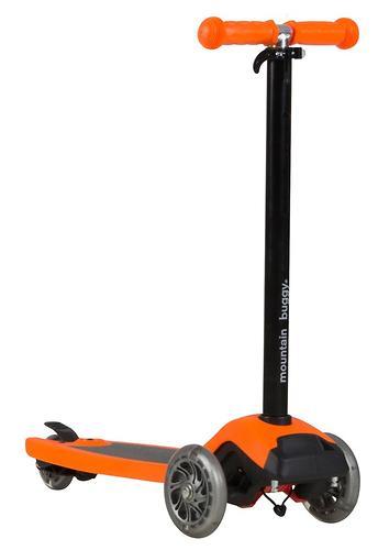 Самокат-подножка для второго ребенка 2в1 Mountain Buggy Freerider Оранжевый (7)