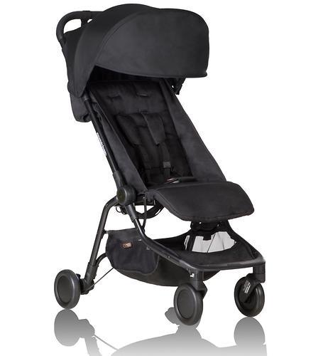 Прогулочная коляска Mountain Buggy Nano V2 Черная (10)
