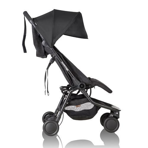 Прогулочная коляска Mountain Buggy Nano V2 Черная (12)